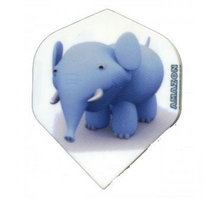 Lot de 3 ailettes Standard Cartoon Elephant C05