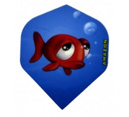 Lot de 3 ailettes Standard Cartoon Fish C06