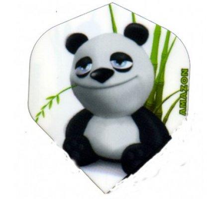 Lot de 3 ailettes Standard Cartoon Panda C08