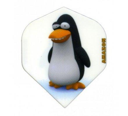 Lot de 3 ailettes Standard Cartoon Penguine C12