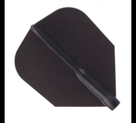Ailettes fit flight shape dark Black 141