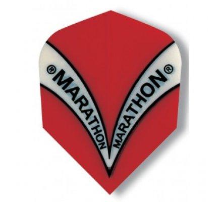 Ailette de fléchette standard Harrows Marathon Rouge M1501