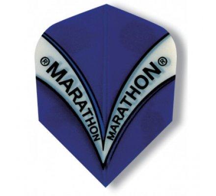 Ailette de fléchette Mini Harrows Marathon Bleue M1537