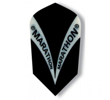 Ailette de fléchette étroite Harrows Marathon Noire M1503