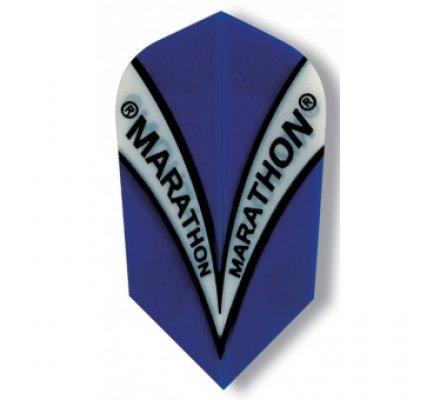 Ailette de fléchette étroite Harrows Marathon Bleue M1505