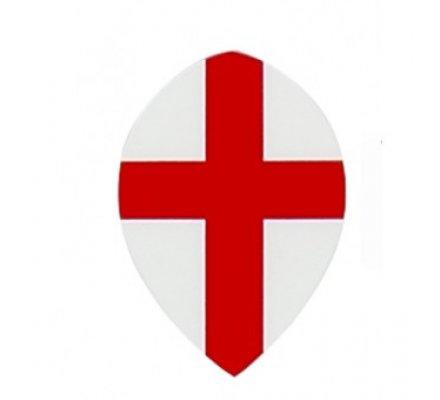 Lot de 3 ailettes de fléchettes poire croix de St-Georges M506