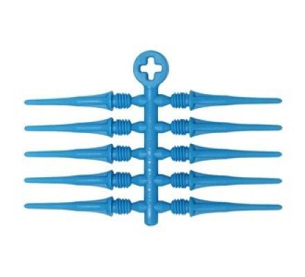Pointes de fléchettes Cosmo Fit Point Plus Bleu