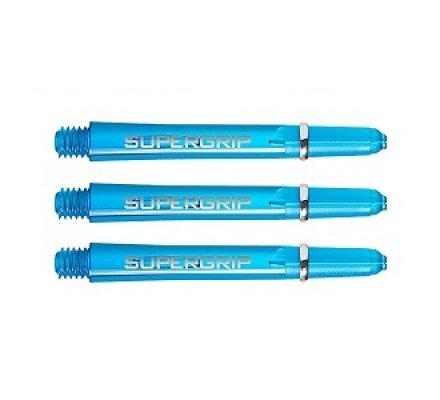 Lot de  tiges de fléchettes Supergrip Aqua Courte SP0437