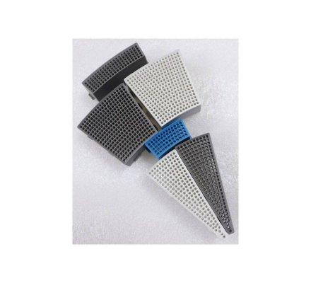 Segment Simple Carré Gris H2