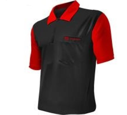 Polo Cool Play 2 Target Noir/Rouge