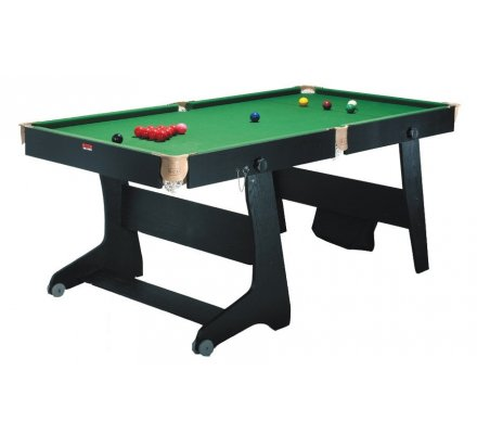 Billard Clifton 6ft US/Snooker Noir + fléchettes