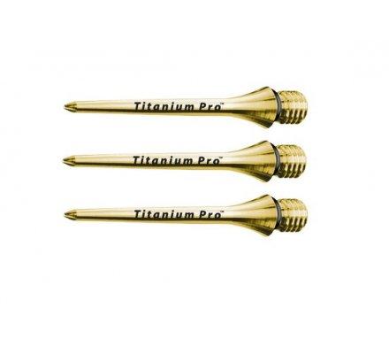 Pointe à visser Titanium Pro Target Gold 2295