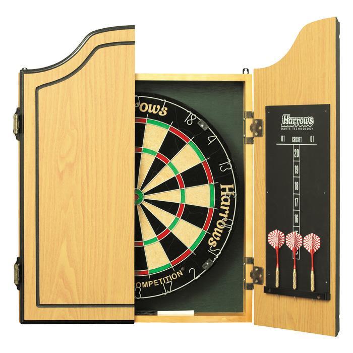 dbjl cible traditionnelle kit complet cible traditionnelle harrows dbjl dart billards. Black Bedroom Furniture Sets. Home Design Ideas