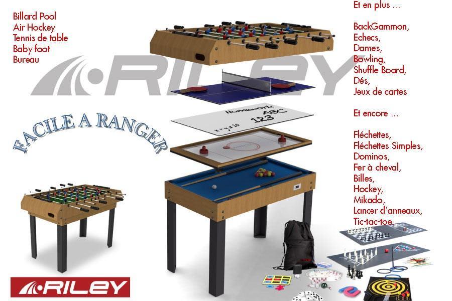 Dbjl table multi jeux et acheter un billard dbjl - Table multi jeux enfant ...