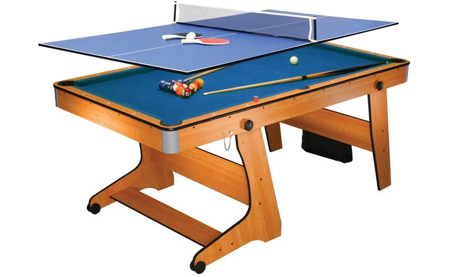 Dbjl table multi jeux billard clifton 6ft am ricain roulettes plateau w5 - Table multi jeux 5 en 1 ...