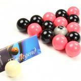 Jeu de billes pool anglais  Aramtih Black/Pink  (50.8)