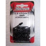 """Pointes """"Key""""-par paquet de 100-Key-Noir"""