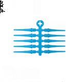 Pointes Plastiques Cosmo Fit Point Plus Bleu