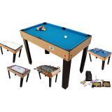 Table Multi Jeux 21 en 1 Bois  W471P