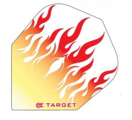 Ailette Standard Target Pro Transparente GOLD FLAME T1442