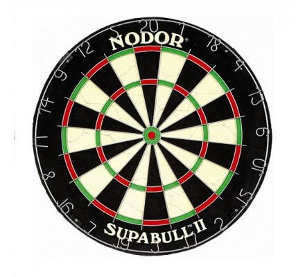 Cible de fléchettes Supabull II Nodor EA012